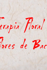 Terapia Floral, flores de Bach